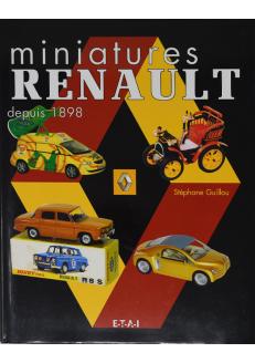 miniatures Renault depuis 1898