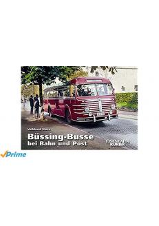 Büssing-Busse bei Bahn und...