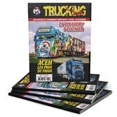"""💥NOUVEAU💥TRUCKING STYLE 41! EN PRESSE DÈS AUJOURD'HUI👌  🔹Même si les salons du camion ont été absents de nos vies depuis plus d'1 an, les transporteurs, eux, n'ont pas cessé de se faire plaisir, en achetant, customisant et décorant leur véhicule !  🔹Dans ce numéro 41 du magazine Trucking Style, retrouvez l'incroyable ensemble DAF de la sociétété de transports allemande EISINGER SPEDITION ! L'occasion de découvrir ou de redécouvrir les autres semi-remorque aérographés de leur parc.  🔹Retrouvons ensuite notre ami Frédéric BERTRAND et son SCANIA porteur citerne noir décoré à l'image de la Nationale 10 et de l'histoire de la famille.  🔹Les Transports PALFRAY et leurs MAN customisés accueillaient, il y a peu, le nouveau venu : fan de Games OF Thrones ? Cet article est pour vous !  🔹Pour ceux qui n'ont pas froid aux yeux, direction le Nord au cœur d'une famille de transporteurs vouée aux """"frigo"""". La société ACEH nous a ouvert ses portes pour un article incroyable !  🔹Nous vous invitons à découvrir l'aventure d'un ancien matelot de la marine nationale devenu chef d'entreprise, Cyrille DUDOUIT ! Avec un premier camion acheté en 2018, venez découvrir ce qu'il a réalisé depuis !  🔹Si vous avez manqué l'article consacré à la société THURIES dans le numéro précédent, une 2ème chance vous est offerte : """"La Nouvelle Génération"""" ! Vous l'aurez compris, cet article est consacré aux SCANIA Next Gen de l'entreprise !  🔹Pour finir, les fans de maquettes et de modèles réduits ne sont pas en reste ;) ! Avec plusieurs articles consacrés à leur hobby ! 🤩"""