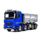"""👌NOUVEAUTÉ -RC- @tecnimodel 👌 MERCEDES AROCS 4151 8X4 PORTEUR BENNE RC !  ❤Nouveauté TAMIYA 2021 disponible chez TecniModel, votre spécialiste modélisme naval, camions radiocommandés et engins de TP. Ce camion Arocs 8x4 avec benne à enrochement élargit la gamme des camions de TP et de porteur dans la gamme. Comme les autres camions TAMIYA, il peut être équipé du module optionnel """"MFU"""" (ref TAMIYA 56523) qui permet le fonctionnement des éclairages, du son et intègre un vibreur pour simuler les vibrations du moteur ainsi qu'un variateur de vitesse. Il peut alternativement être équipé d'un ensemble électronique de Servonaut.  Le kit comporte un châssis 4 essieux réaliste équipé de suspensions à lames, d'une boite de vitesse à 3 rapports et d'une cabine très fidèlement détaillée. Les éléments de châssis (réservoirs, échappements, plate-forme, etc...) sont fidèlement reproduits. La majorité des détails de carrosserie sont également reproduits, apportant un réalisme remarquable du modèle, tels que les rétros, les marche-pieds, les logos, la calandre, les phares, etc...  Le camion peut être équipé du système de levage de benne électrique TAMIYA 56545 (disponible séparément).  🛒VIDEO ET INFOS ICI : https://editionscany.fr/blog/news/tecnimodel-vous-propose-le-nouveau-arocs-4151-8x4-porteur-benne-rc-"""